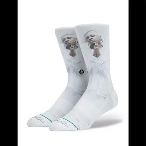 Stance Underwear & Socks - NWT Stance x Allen Iverson The Answer White Socks